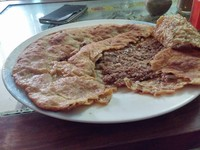 Finger licking Qeema paratha -  Waleed Shah