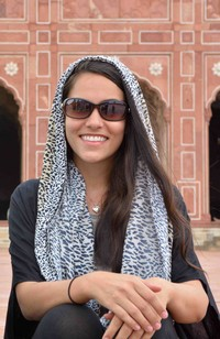 Author: Sophee at Badshahi Masjid, Lahore