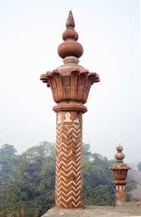 Small minar above the main gate