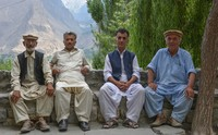 Elders of Hunza valley